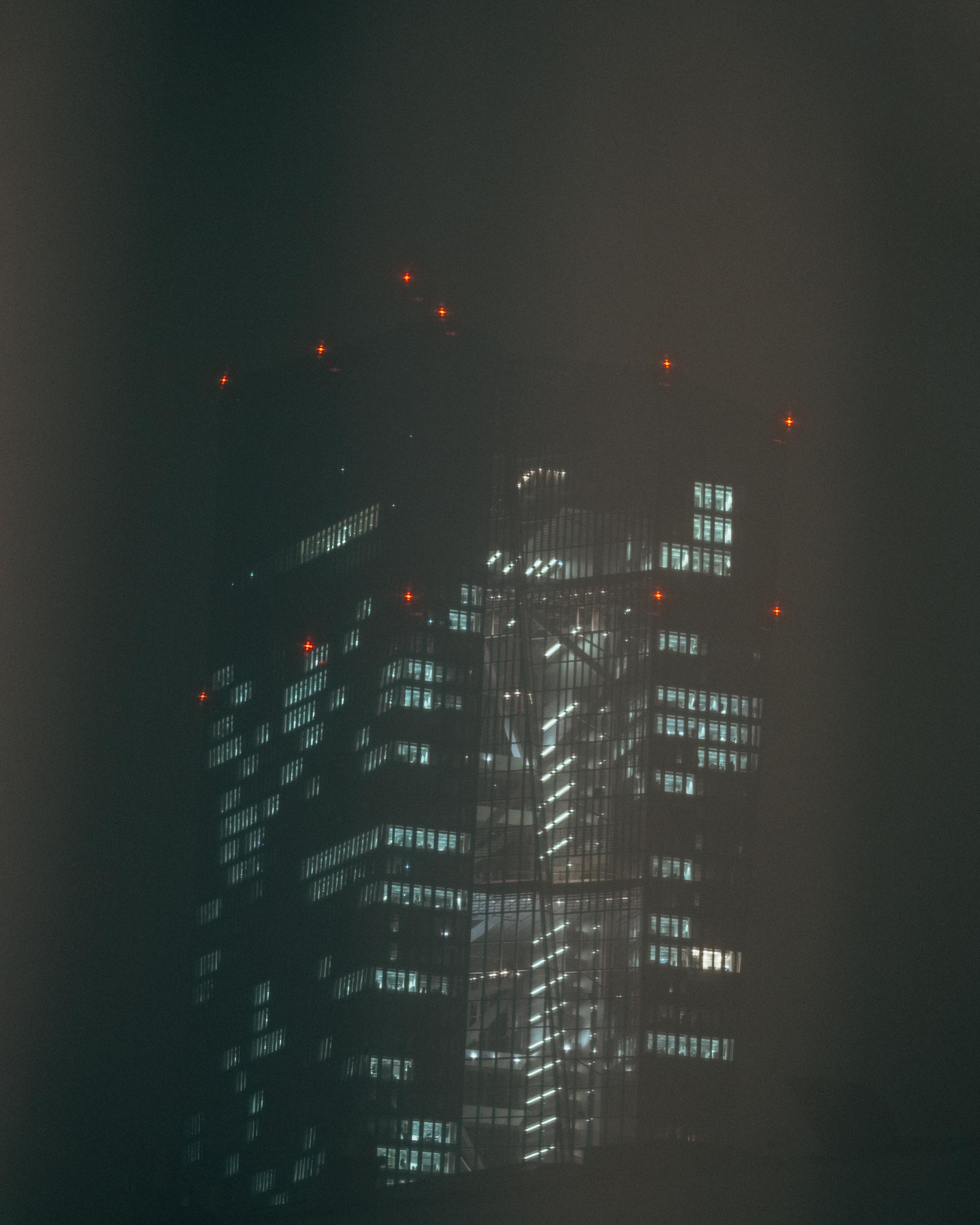 In vielen Punkten unterscheiden sich die Jungen und ihre Geschichten. Was sie vereint ist der Wohnort- Frankfurt am Main mit seinen glänzenden Hochhäusern, wie hier die europäische Zentralbank. Foto: Mario Wezel